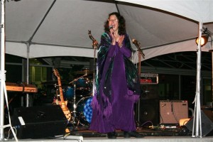 Judith at Open Air Concert: Broward County, FL